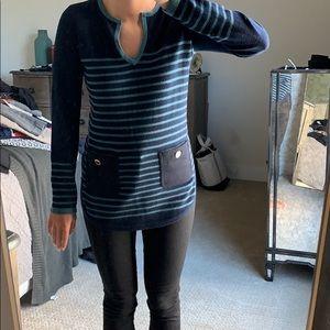 Tory Burch Odessa sweater tunic
